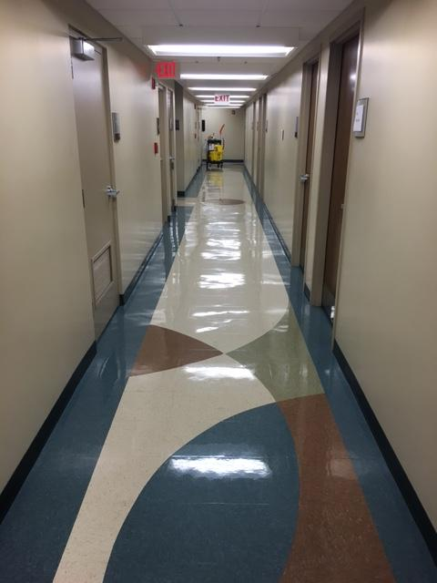 Floor Stripping by Advanced Cleaning